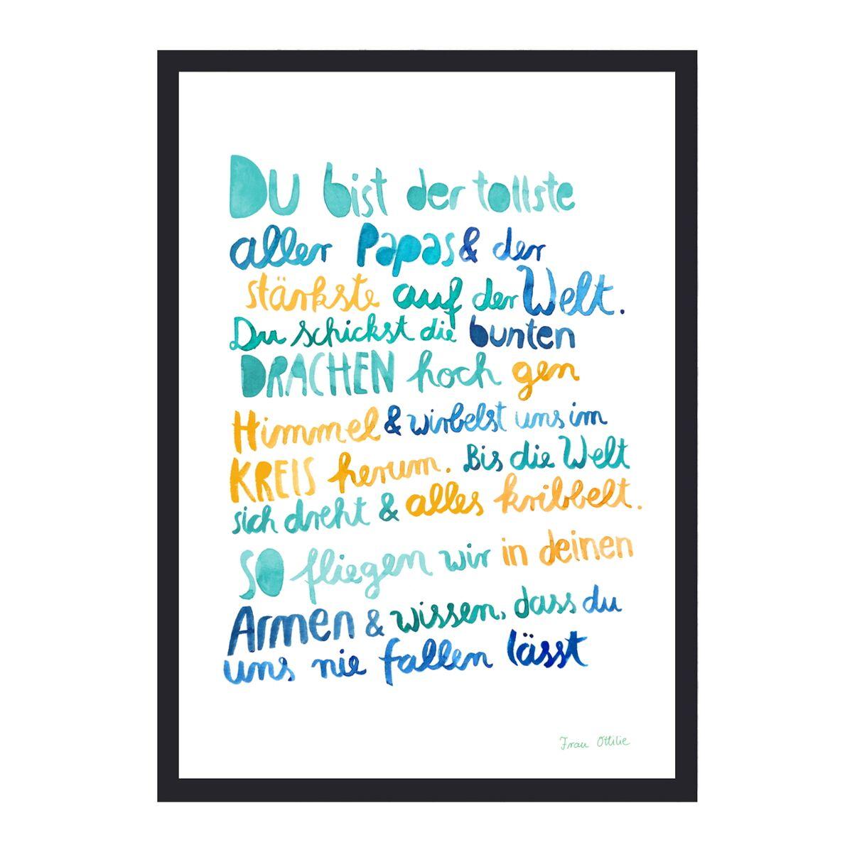 Frau Ottilie - Print - \