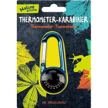 Die Spiegelburg - Thermometer-Karabiner Nature Zoom