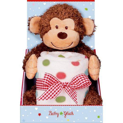 Die Spiegelburg - Geschenkset Baby Glück Affe