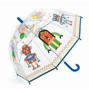 """Djeco - Little Big Room - Regenschirm """"Robot"""""""