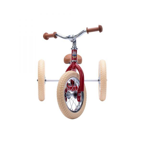 Trybike Steel - Dreirad/ Laufrad Vintage red