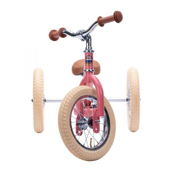 Trybike Steel - Dreirad/ Laufrad Vintage pink