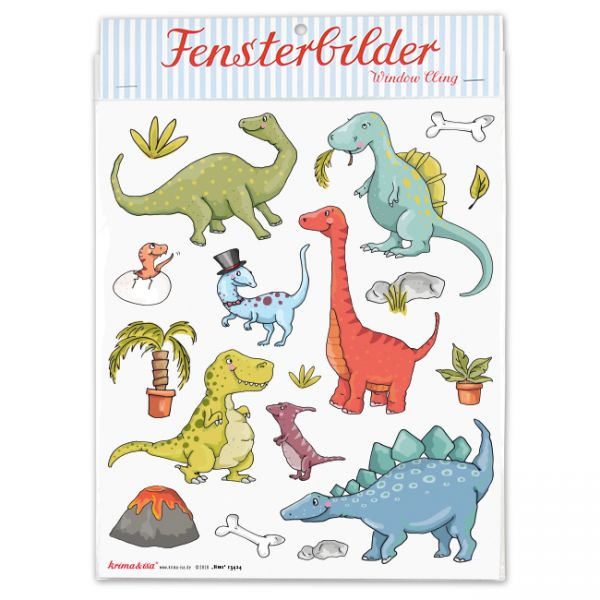 krima & isa - Fensterbilder Dinos