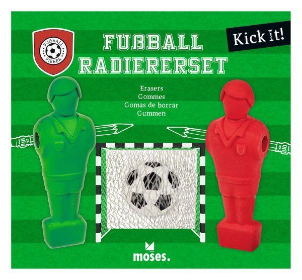 "Moses Verlag - Fußball Fieber Radierer ""KICK IT"""