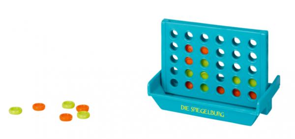 Die Spiegelburg - Mini-Spiel 4 in einer Reihe