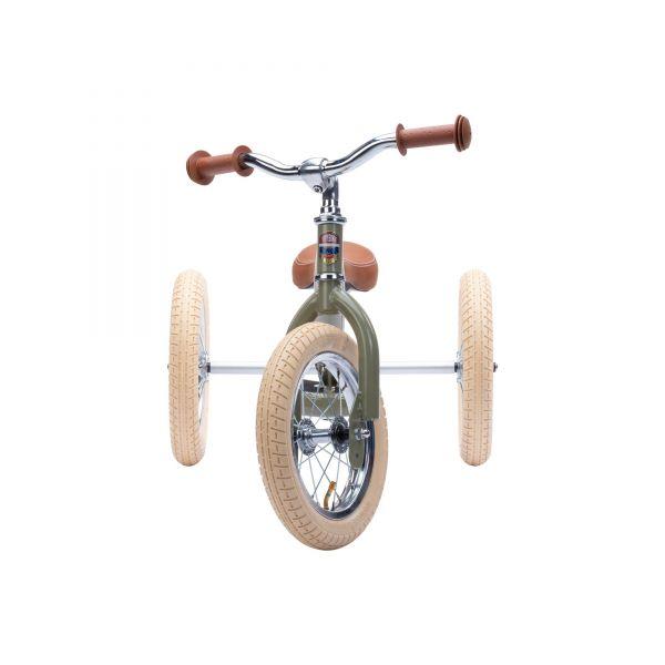 Trybike Steel - Dreirad/ Laufrad Vintage green