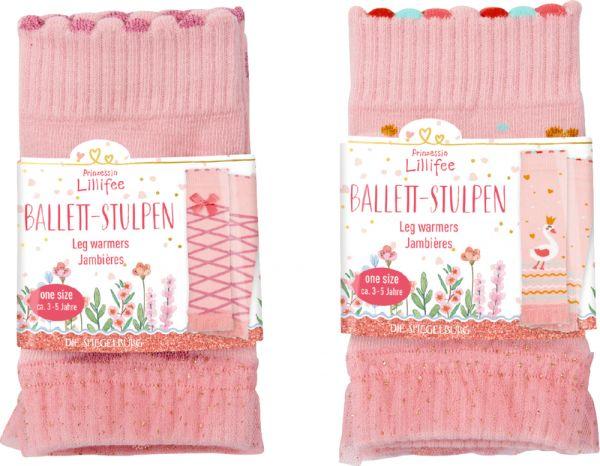 Die Spiegelburg - Ballett- Stulpen Prinzessin Lillifee (One Size ca. 3-5J.)
