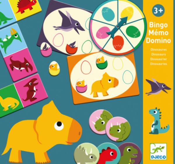 "Djeco - Bingo Memory Domino ""Dinosaurier"""
