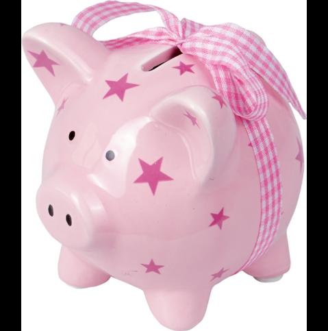 Die Spiegelburg - Mein erstes Sparschwein rosa Baby Glück