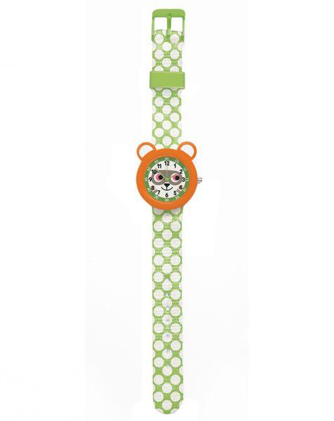 Djeco - Little Big Room - Armbanduhr Waschbär