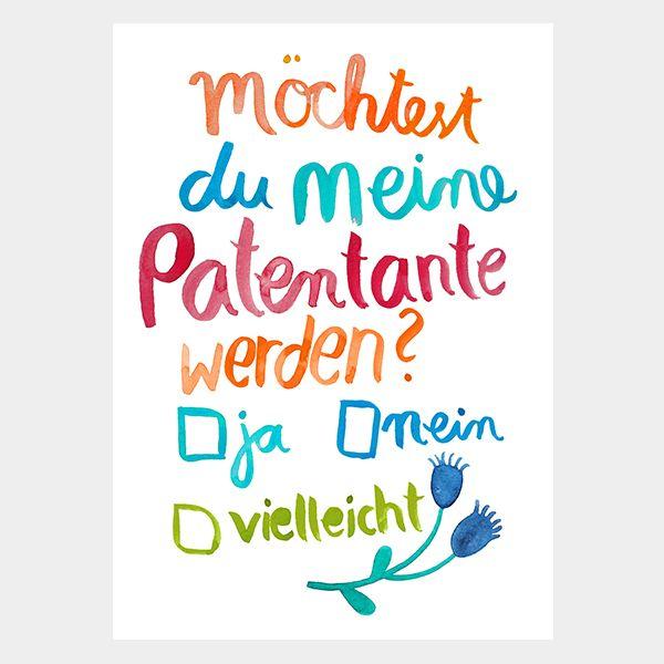 Frau Ottilie - Postkarte - \