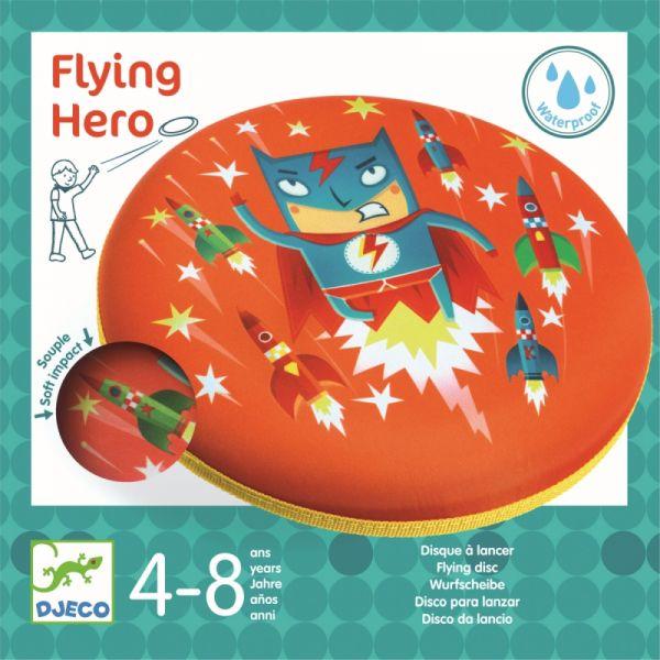 "Djeco - Wurfscheibe ""Flying Hero"""