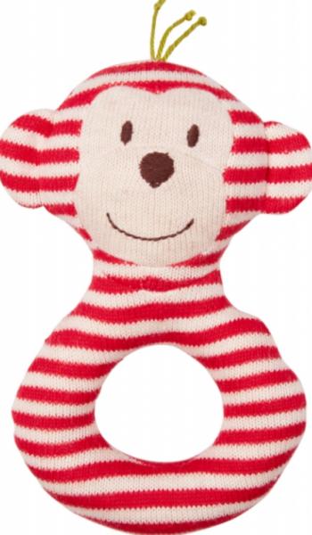 Die Spiegelburg - Ringrassel Baby Glück rot